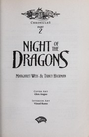 Cover of: Night of the dragons