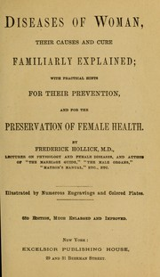 Cover of: Diseases of woman