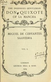 Cover of: Adventures of Don Quixote de la Mancha | Miguel de Cervantes Saavedra
