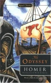 Cover of: The Odyssey of Homer by Homer