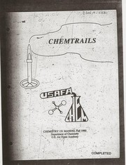 Cover of: Chemtrails, chemistry 131 manual, fall 1990 by