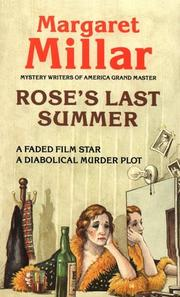 Cover of: Rose's last summer