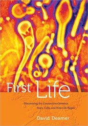 Cover of: First life | D. W. Deamer