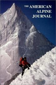 Cover of: American Alpine Journal 2000