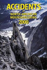 Cover of: Accidents in North American Mountaineering 2000