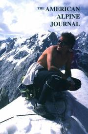 Cover of: The American Alpine Journal 2001 (American Alpine Journal)