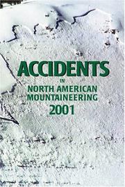 Cover of: Accidents in North American Mountaineering 2001