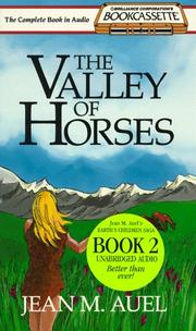 Cover of: The Valley of Horses (Bookcassette(r) Edition) | Jean M. Auel