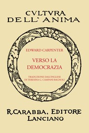 Cover of: Verso La Democrazia by Edward Carpenter