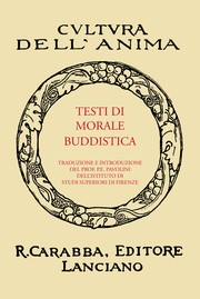 Cover of: Testi Di Morale Buddistica by