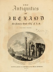 Cover of: The antiquities of Ireland