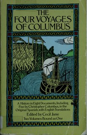 Cover of: The four voyages of Columbus | Cristóbal Colón