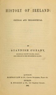 Cover of: History of Ireland