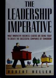 Cover of: The leadership imperative