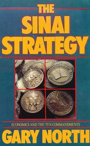 Cover of: Sinai Strategy | Gary North