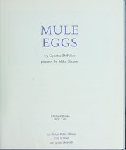 Cover of: Mule eggs