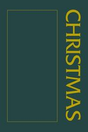 Cover of: A Christmas Sourcebook (Sourcebook Anthologies)