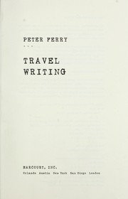 Cover of: Travel writing | Peter Ferry
