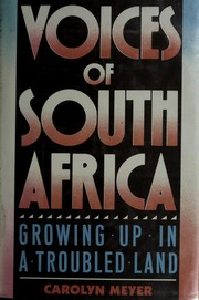 Cover of: Voices of South Africa: Growing Up in a Troubled Land