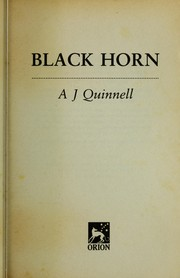 Cover of: Black Horn | A. J. Quinnell