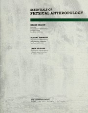Cover of: Essentials of physical anthropology