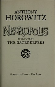 Cover of: Necropolis