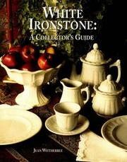 Cover of: White ironstone | Jean Wetherbee