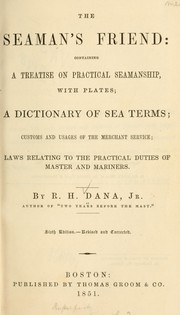 Cover of: The seaman's friend