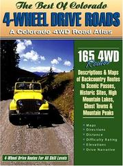 Cover of: Colorado 4-Wheel Drive Roads