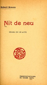 Cover of: Nit de neu