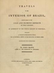 Cover of: Travels in the interior of Brazil