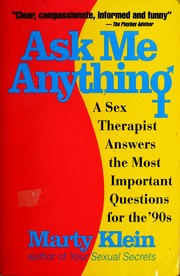 Cover of: Ask me anything | Marty Klein