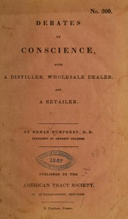 Cover of: Debates of conscience