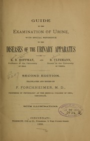 Cover of: Guide to the examination of urine