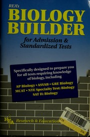 Cover of: Biology Builder for Admission and Standardized Tests