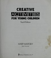 Cover of: Creative Activities for Young Children