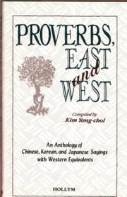 Cover of: Proverbs, East And West