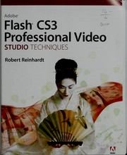 Cover of: Flash CS3 professional video: studio techniques