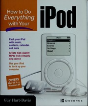 Cover of: How to do everything with your iPod