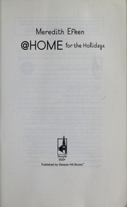 Cover of: @ Home for the Holidays