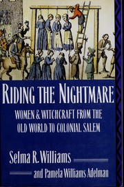 Cover of: Riding the nightmare | Selma R. Williams