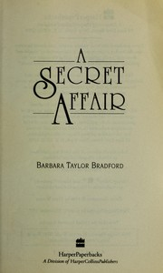 Cover of: A secret affair