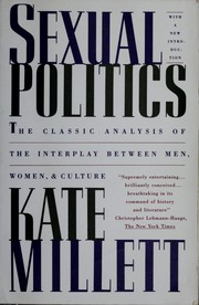 Cover of: Sexual politics | Kate Millett