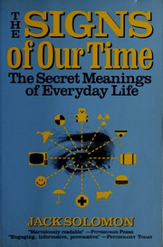 Cover of: The signs of our time | J. Fisher Solomon