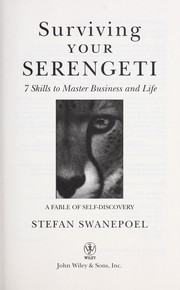 Cover of: Surviving your Serengeti | Stefan Swanepoel