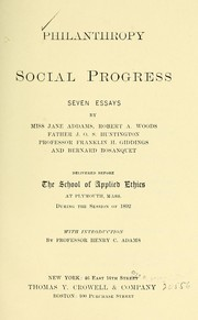 Philanthropy and social progress