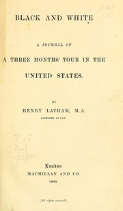 Cover of: Black and white. | Latham, Henry