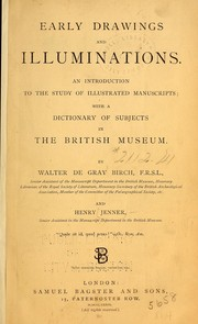 Cover of: Early drawings and illuminations