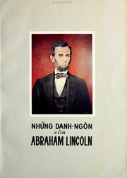 Cover of: Những danh-ngôn của Abraham Lincoln