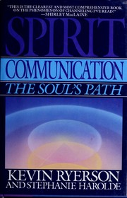 Cover of: Spirit communication | Kevin Ryerson